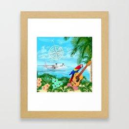 Tropical Travels Framed Art Print