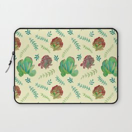 Paddle Plant Pattern Laptop Sleeve