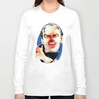 jack nicholson Long Sleeve T-shirts featuring Jack Nicholson by drawgood