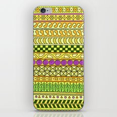 Yzor pattern 011 Yellow Things iPhone & iPod Skin