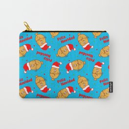 Christmas Cartoon Tamales Pattern Carry-All Pouch