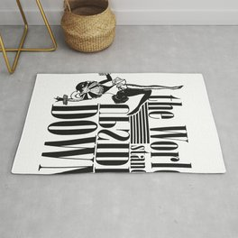 the world stands upside down, Circus Rug