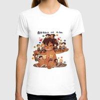 snk T-shirts featuring SNK-Mini Titan by Mimiblargh