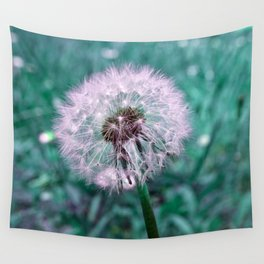 DANDELION - puffball Wall Tapestry