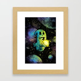 Space Ghost 4.0 Framed Art Print