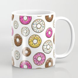 Funfetti Donuts - White Coffee Mug