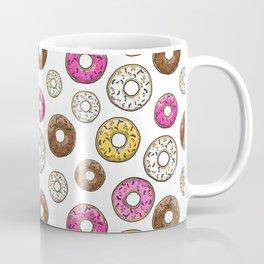 Funfetti Donuts - White Coffee Mug