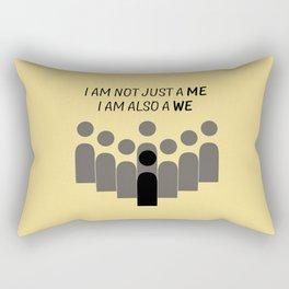 Sense8 - i am also a we  Rectangular Pillow