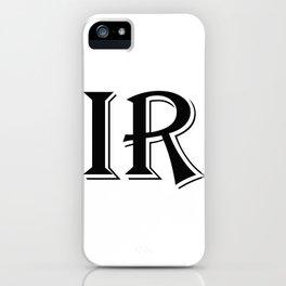 Inverse Reaction iPhone Case