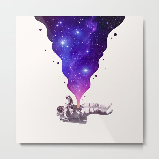 Space Within Metal Print