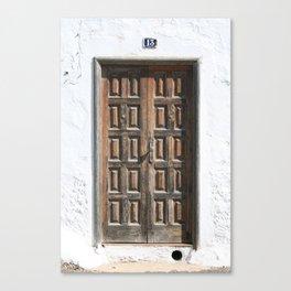 Door 13 Canvas Print