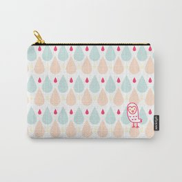 009 OWLY coloured rain Carry-All Pouch