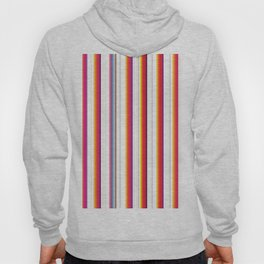 Colorful Stripes Barcode 80s Hoody