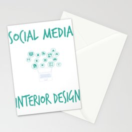 Social Media Can Wait Its Time For Interior Design Stationery Cards