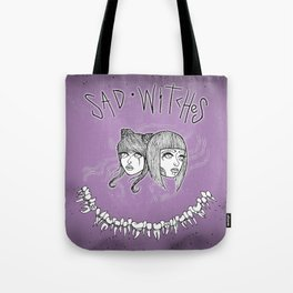 Sad Witches Tote Bag