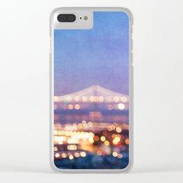 BAY BRIDGE GLOW - San Francisco Clear iPhone Case