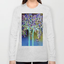In a Blue and Purple World Long Sleeve T-shirt