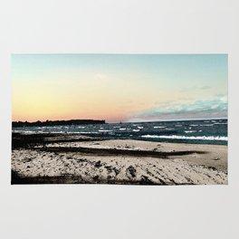 SunSet At My Beach Rug