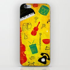 Music and Noise iPhone & iPod Skin