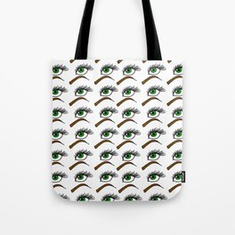 Green Eyes | Veronica Nagorny Tote Bag