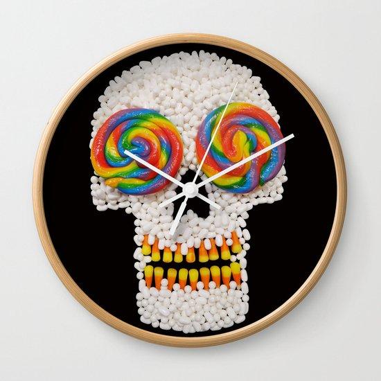 Skullipop Wall Clock