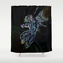 Ezreal Shower Curtain