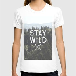 Stay Wild - Mountain Pines T-shirt