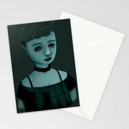 Night Girl II Stationery Cards