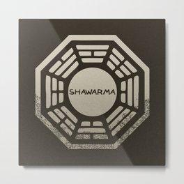 Shawarma Metal Print