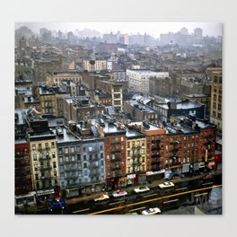 Essex Street, NYC, 1981 Canvas Print