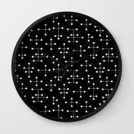 Atomic Era Dots 31 Wall Clock