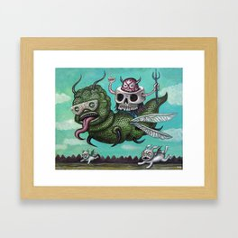 Ride of the Valkyrie Framed Art Print