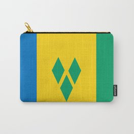 Saint Vincent and the Grenadines country flag Carry-All Pouch