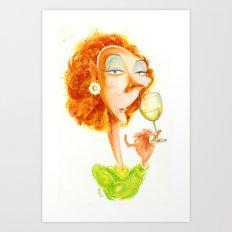 Wine Snob No.3 Art Print
