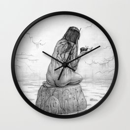 Nymph Wall Clock