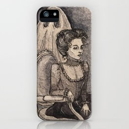 Mourning Light iPhone Case