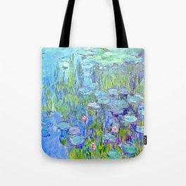 Monet Nympheas Light Blue Therapist Bag