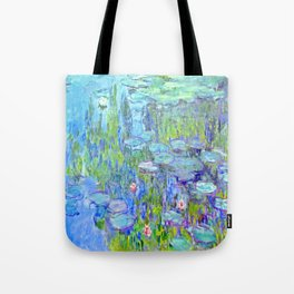 Water Lilies monet : Nympheas Tote Bag