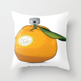 Tangerine: the Smell of Victory Throw Pillow