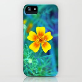 Blooming Contrast iPhone Case