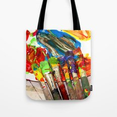 The artists of the future Tote Bag