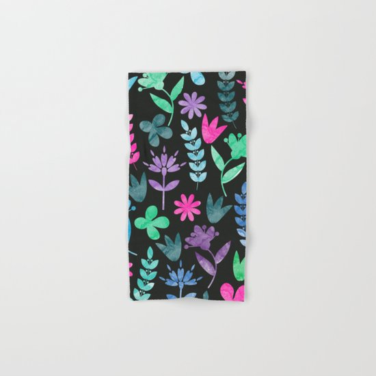 Flower Pattern V Hand & Bath Towel