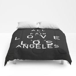 ALL IS FAIR II Comforters