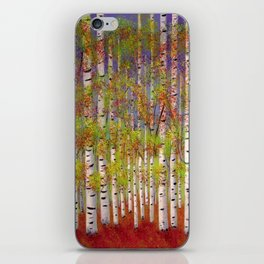 Dressed in Fall Colors iPhone Skin