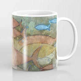 Fishes in the ocean Coffee Mug