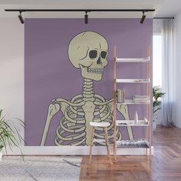 Skeleton Wall Mural