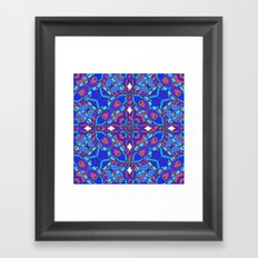 Rather be blue Framed Art Print