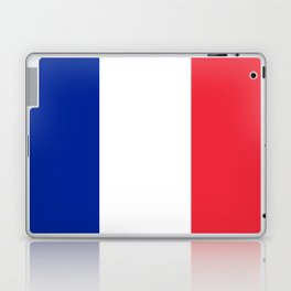 Flag of France, Authentic color & scale Laptop & iPad Skin