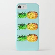 Fresh pineapples  iPhone 7 Slim Case