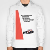 senna Hoodies featuring Senna Inspriation by MDBDESIGN.